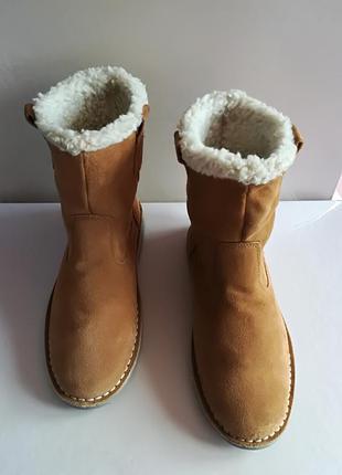 Зимние тёплые сапоги cotton traiders англия
