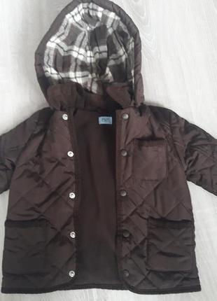 Стильная курточка для малиша 12-18мес.
