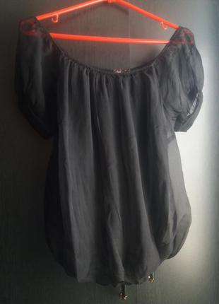 Шелковая итальянская блуза p.s
