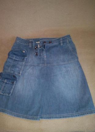 Классная фирменная джинсовая юбка