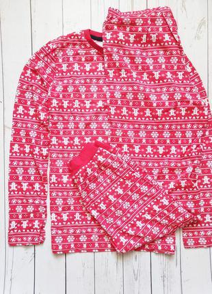 Пижама новогодняя новорічна піжама 146/152 pepperts