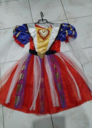 Карнавальное платье чирвовая дама