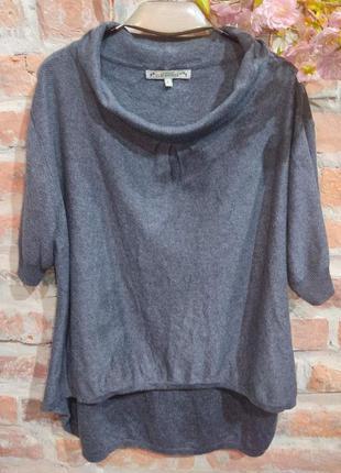Винтажный свитерок с удлинённой спиной