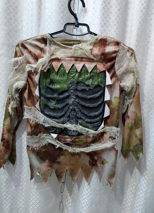 Карнавальный костюм на хэллоуин скелет, мумия