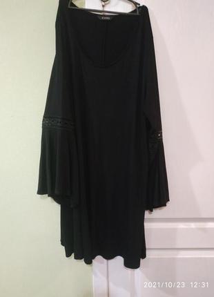 Шикарная блузка- туника,модная на ооочень крупную леди