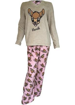 Пижама мягкая disney bambi есть нюанс / большая распродажа!