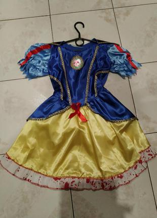 Карнавальное платье на хэллоуин белоснежка