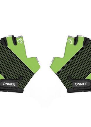 Перчатки детские onride gem зеленый