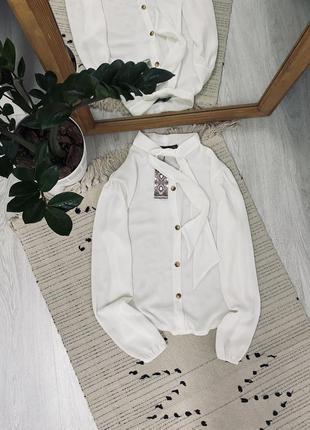 Нова біла блуза від boohoo🌿