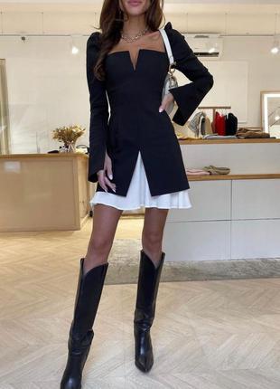 Платье чёрное,  деловое, вечерние