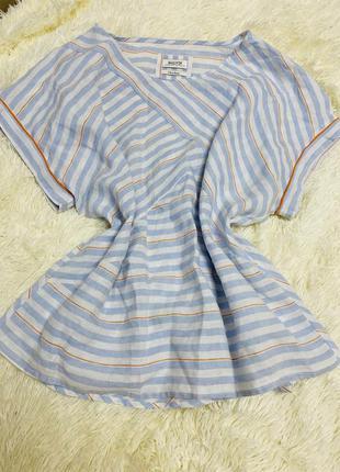 Льняная блуза malvin