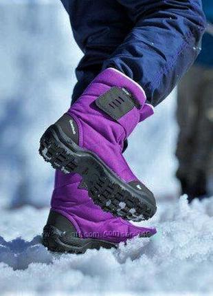 Зимние термо ботинки/ сапоги quechua  decathlon