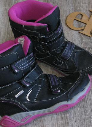 Темо ботинки для девочки размер 33