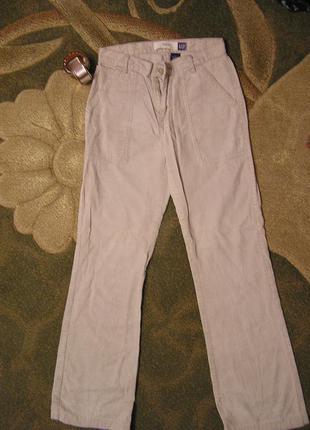 Джинсы брюки штаны вельветовые gap