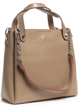 Женская кожаная сумка alex rai 8784.
