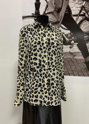 Блуза в леопардовый принт