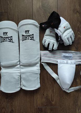 Захист для теквондо, защита для тэквондо, фути,футы, перчатки, рукавиці