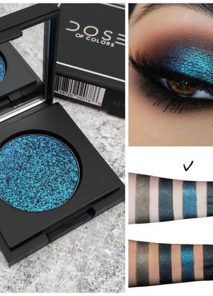 Тени спарклы dose of colors teal me more