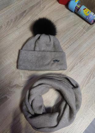 Тепла шапуля для хлопчика