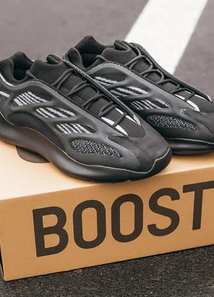 "Женские кроссовки adidas yeezy boost 700 v3 ""all black""#адидас"