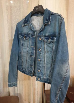 Куртка джинсовая, джинсовый пиджак kira plastinina, h&m,zara