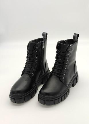 Современные зимние женские ботинки