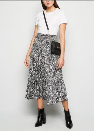 Невероятно стильная миди юбка плиссе
