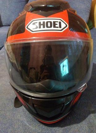 Закрытый шлем-интеграл shoei gt air