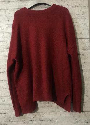 Шерстяной свитер альпака