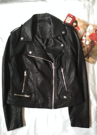 Стильная демисезонная куртка-косуха.