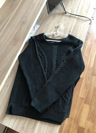 Тёплый свитер джемпер пуловер свитшот кофта