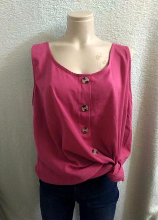 Женская футболка блузка большого размера