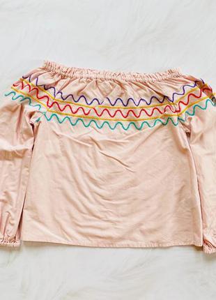 M&s   стильная блузка на девочку  8-9 лет