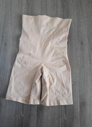 Корректирующее бельё шорты бежевые