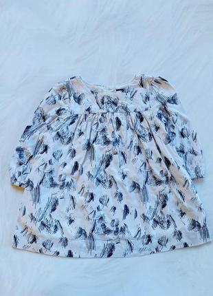 Gap  стильная блузка на девочку 6-12 мес