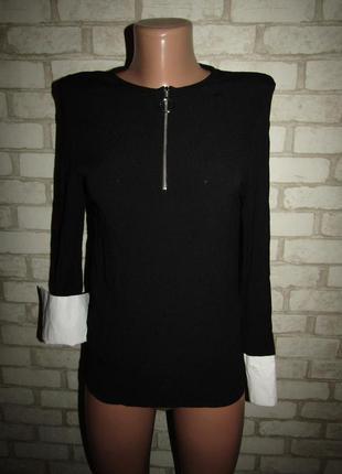 Красивая блузочка р-р 34-xs бренд zara