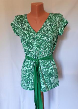Трикотажная блуза-майка amisu(размер 10-12)