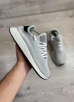 Классные кроссовки в сеточку в зал супер