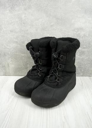 """Детские утепленные резиновые сапоги, ботинки """"sorel"""". размер uk1/ eur31."""