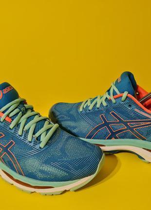Asics gel-nimbus 19  40.5р. 25.75см кроссовки для бега и тренировок