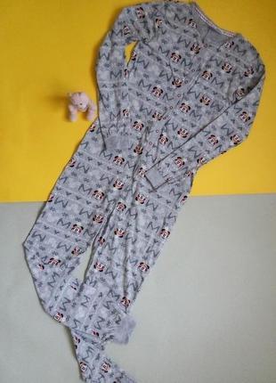 Комбез для сна,пижама совместная