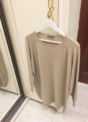Новий.светр вовна кашемір преміум брендовий drykorn cashmere & wool oversized sweater oригінал