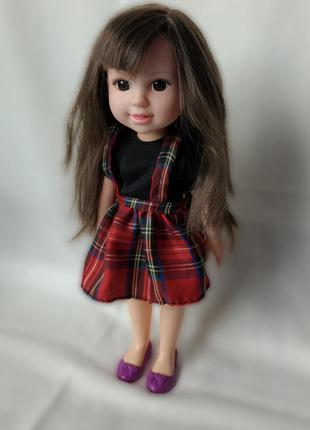 Кукла в симпатичном наряде 32 см