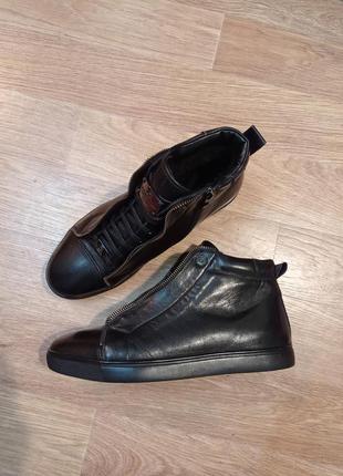 Крутейшие зимние ботинки guido grozzi натуральная кожа