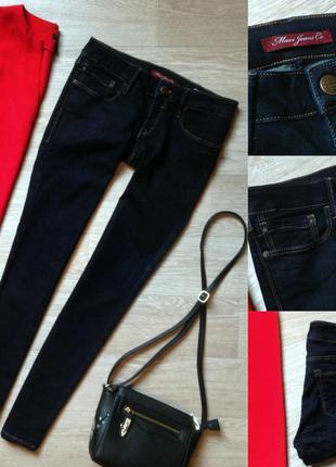 #87 синие джинсы скинни mavi jeans co. lindy