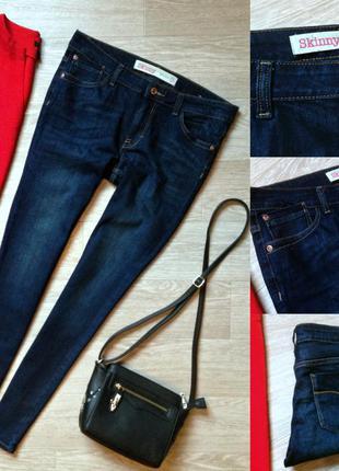 #89 джинсы скинни средней посадки next