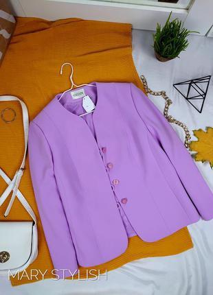 Пиджак сиреневый