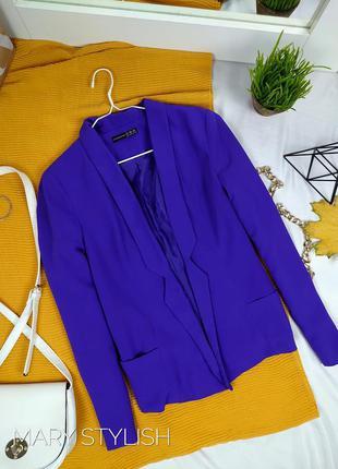 Пиджак цвет фиолет