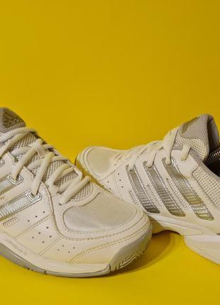 Adidas response court 2 37.5р. 24см кроссовки теннисные