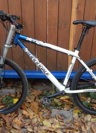 Велосипед cannondale f6 lefty 26 alivio shimano schwalbe